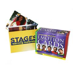 STAGES LEARNING MATERIALS LANGUAGE BUILDER EMOTION CARDS
