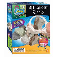 POOF PRODUCTS/ SLINKY ALL ABOUT ROCKS MINI LAB