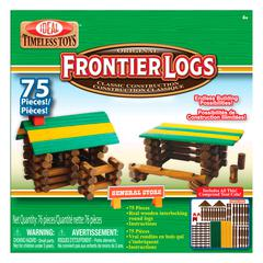 POOF PRODUCTS/ SLINKY FRONTIER LOGS 75 PIECES