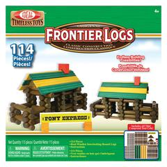 POOF PRODUCTS/ SLINKY FRONTIER LOGS 114 PIECES