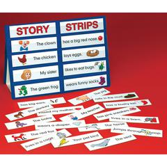 PLAYMONSTER(PATCH) TABLE TOP POCKET CHART STORY STRIPS