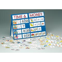 PLAYMONSTER(PATCH) TIME & MONEY TOP POCKET CHART PORTABLE