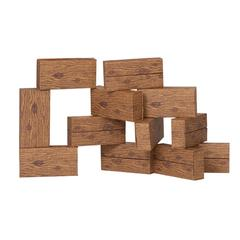SMART MONKEY 16PC GIANT TIMBER BLOCKS