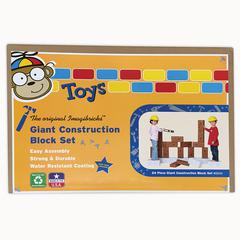 IMAGIBRICKS GIANT BUILDING CONSTRUCTION BLOCKS 24/SET