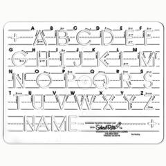 SCHOOL RITE TEMPLATE MAUSCRIPT UPPERCASE LETTERS