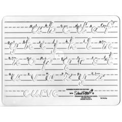 SCHOOL RITE TEMPLATE LOWERCASE TRANSITIONAL MANUSCRIPT LETTERS