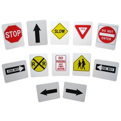 THE STORYBOARD STYRENE STREET SIGNS