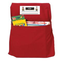 SEAT SACK SMALL RED