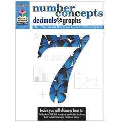 HOUGHTON MIFFLIN HARCOURT MIDDLE SCHOOL MATH COLLECTION NUMBER CONCEPTS DECIMALS & GRAPHS