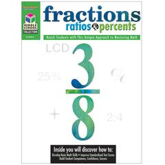 HOUGHTON MIFFLIN HARCOURT MIDDLE SCHOOL MATH COLLECTION FRACTIONS RATIOS & PERCENTS