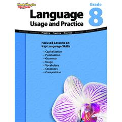 HOUGHTON MIFFLIN HARCOURT LANGUAGE USAGE AND PRACTICE GR 8