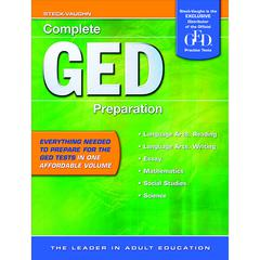 HOUGHTON MIFFLIN HARCOURT COMPLETE GED PREPARATION READING LEVELS 8-12