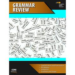 HOUGHTON MIFFLIN HARCOURT CORE SKILLS GRAMMAR REVIEW GR 6