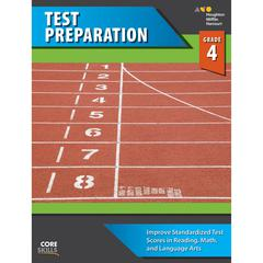 HOUGHTON MIFFLIN HARCOURT CORE SKILLS TEST PREPARATION GR 4
