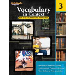 HOUGHTON MIFFLIN HARCOURT GR 3 VOCABULARY IN CONTEXT FOR THE COMMON CORE STANDARDS