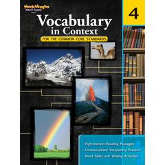 HOUGHTON MIFFLIN HARCOURT GR 4 VOCABULARY IN CONTEXT FOR THE COMMON CORE STANDARDS