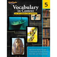 HOUGHTON MIFFLIN HARCOURT GR 5 VOCABULARY IN CONTEXT FOR THE COMMON CORE STANDARDS