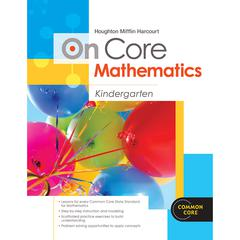 HOUGHTON MIFFLIN HARCOURT ON CORE MATHEMATICS BUNDLES GR K