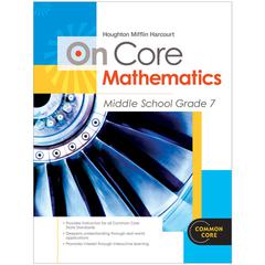 HOUGHTON MIFFLIN HARCOURT ON CORE MATHEMATICS BUNDLES GR 7