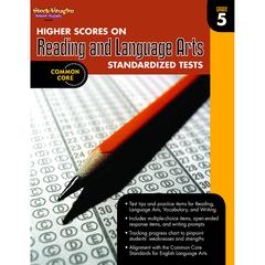 HOUGHTON MIFFLIN HARCOURT GR 5 HIGHER SCORES ON READING AND LANGUAGE ARTS