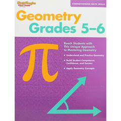 HOUGHTON MIFFLIN HARCOURT STRENGTHENING MATH SKILLS GEOMETRY GR 5-6