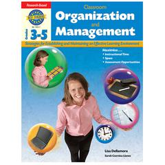 HOUGHTON MIFFLIN HARCOURT GR 3-5 CLASSROOM ORGANIZATION & MANAGEMENT