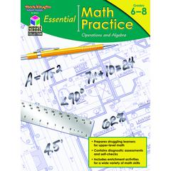 HOUGHTON MIFFLIN HARCOURT ESSENTIAL MATH PRACTICE OPERATIONS AND ALGEBRA