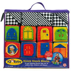 SMALL WORLD TOYS BABY KNOCK-KNOCK BLOCKS