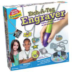 SMALL WORLD TOYS ETCH A TAG ENGRAVER