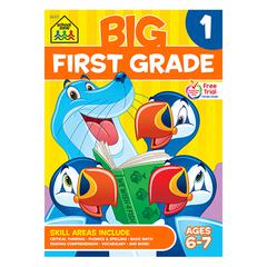 BIG FIRST GRADE WORKBOOK