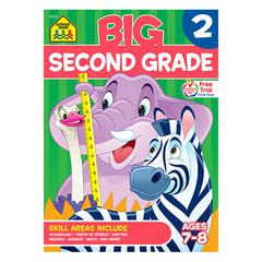 SCHOOL ZONE PUBLISHING BIG SECOND GRADE WORKBOOK