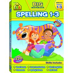 SCHOOL ZONE PUBLISHING BIG SPELLING GR 1-3