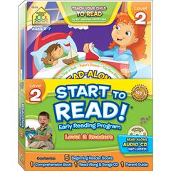 EARLY READING PROGRAM LEVEL 2 START TO READ