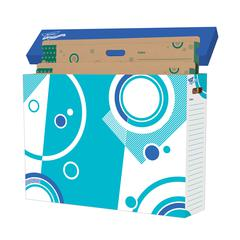 TREND ENTERPRISES FILE N SAVE STORAGE BOX CHART 31 X 23 X 7