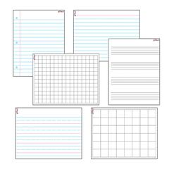 TREND ENTERPRISES WIPE OFF PAPERS & GRIDS COMBO PACK