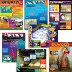 WEATHER EXTREMES COMBO SETS LEARNING CHARTS