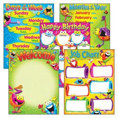 CLASSROOM BASICS FROG-TASTIC LEARNING CHART COMBO PACK