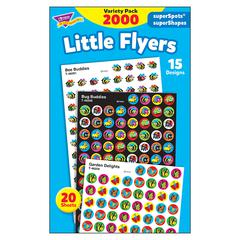 LITTLE FLYERS VARIETY PACK STICKERS SUPERSPOTS/ SUPERSHAPES