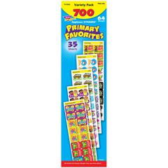 TREND ENTERPRISES APPLAUSE STICKERS 700/PK PRIMARY FAVORITES ACID-FREE JUMBO VARIETY