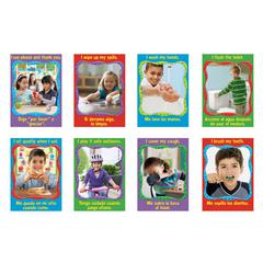 TREND ENTERPRISES HEALTHY HABITS LOOK & LEARN POSTERS PACK