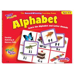 MATCH ME GAME ALPHABET AGES 3 & UP 1-8 PLAYERS