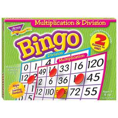 TREND ENTERPRISES MULTIPLICATION & DIVISION BINGO GAME
