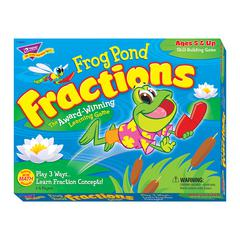 TREND ENTERPRISES FROG POND FRACTIONS GAME AGES 5 & UP