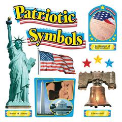 TREND ENTERPRISES BB SET PATRIOTIC SYMBOLS