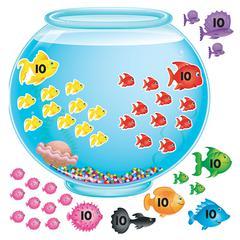 TREND ENTERPRISES BB SET 100-DAY FISHBOWL