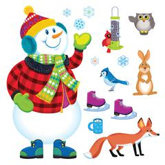 TREND ENTERPRISES BB SET SUPER SNOWMAN