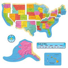 US MAP BB SET 46IN WIDE GR 1-8