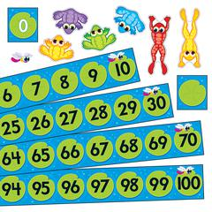 FROG POND NUMBER LINE BB SET