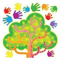 TREND ENTERPRISES HANDS IN HARMONY LRN TREE BB SET