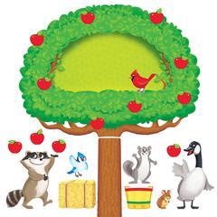 TREND ENTERPRISES APPLE TREE & ANIMALS BB SET